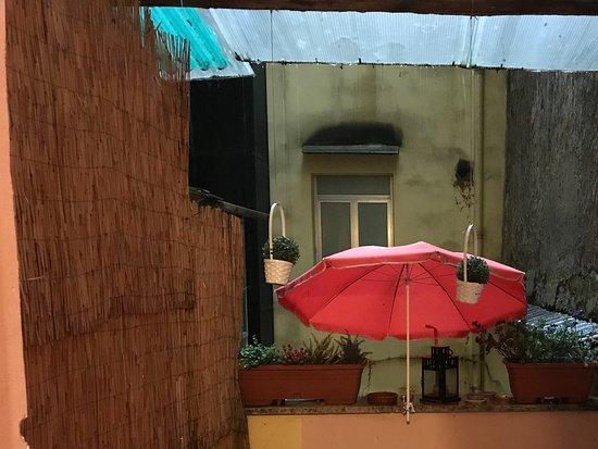 Locanda al Viminale: Petit balcon de la chambre 1.