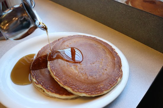 White Marsh, MD: Our famous homemade fluffy buttermilk pancakes!