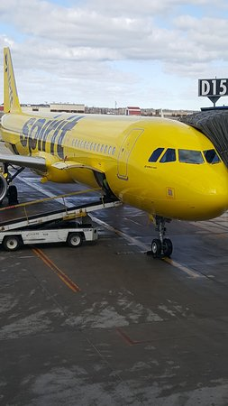 nk285 march 10 2018 dtw picture of spirit airlines world
