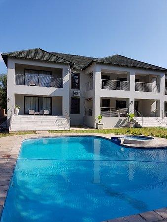 Marloth Park, Güney Afrika: Lodge and pool
