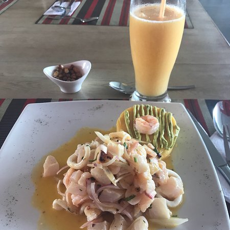 Great Peruvian food!