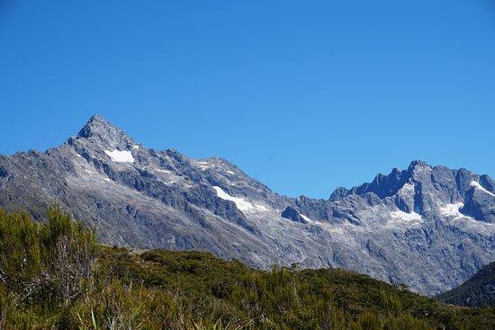 Milford, Новая Зеландия: View from Key Summit