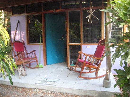 Casitas LazDivaz: The entrance to our casita.