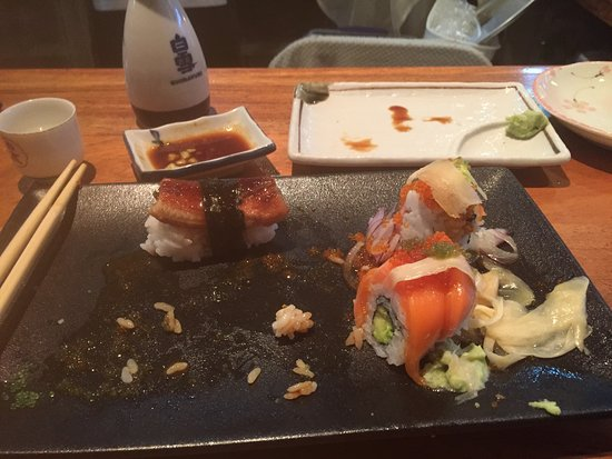 Yamato Japanese Restaurant: Almost done
