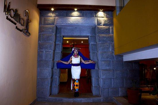 Imperial Cusco Hotel: Nuestro Portal Inca,uno de los ingresos a nuestro Restaurante Malliña