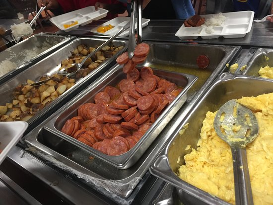 Pleasant Breakfast Buffet Picture Of Kilauea Volcano Military Camp Home Interior And Landscaping Palasignezvosmurscom