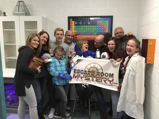 Escape Room Mystery: Absolutely hysterical!