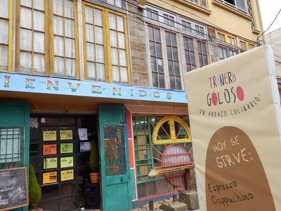 El Alto, Bolivia: Entrance of the Snack