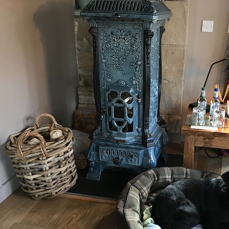 Boath House: Pets are welcome in Meikle Cottage