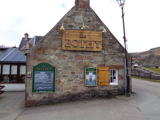The Bothy Restaurant and Bar: Outsidce of The Bothy