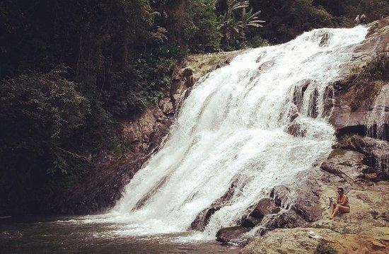 Aguas Mornas, SC: Cachoeira da Ressurreição
