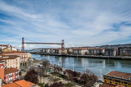 Vizcaya Bridge from Portugalete