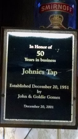 Stuart, IA: Johnie's Tap - going strong since 1951 !!!