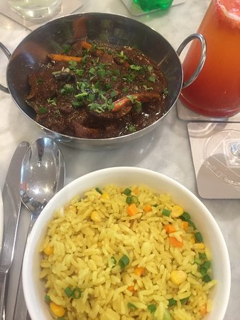Craft Gourmet By Lou Baker: Ginger Braised Beef & Fried rice