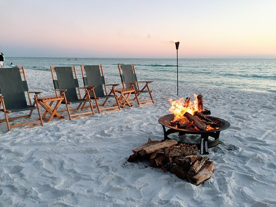 DeFuniak Springs, FL: 30A Beach bonfires provided by 30A Blaze