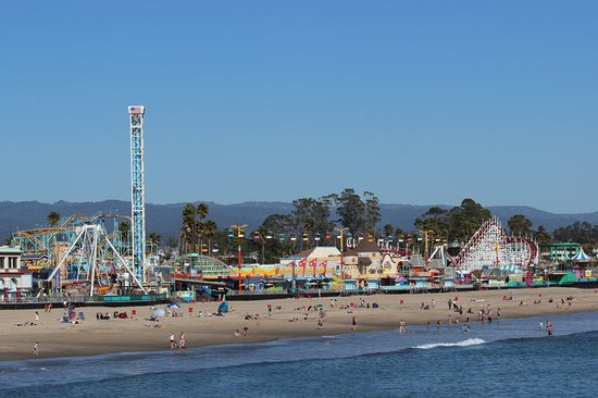 La Selva Beach, CA: Santa Cruz Boarwalk