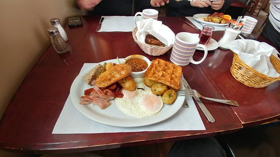 Saint Donat, Canada: The Big Breakfast