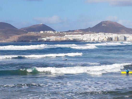 Playa de Las Canteras: Stadtstrand von Las Palmas