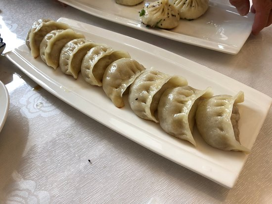 Mount Eden, Nova Zelândia: Fried Pork Dumplings
