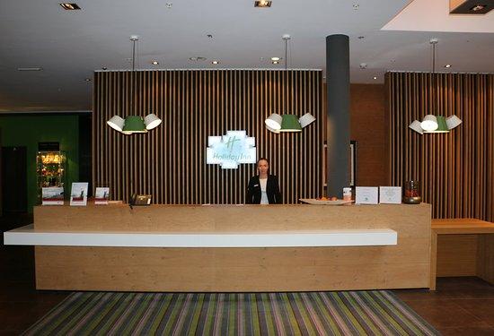 Schindellegi, Швейцария: Lobby