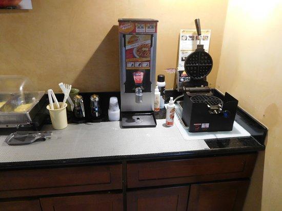 Okanogan, WA: wafel maker