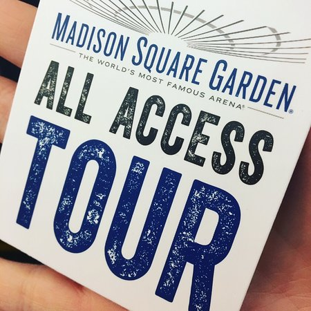 Madison Square Garden All Access Tour New York 2018 Ce Qu 39 Il Faut Savoir Pour Votre Visite