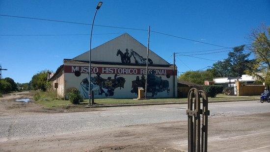 Ayacucho, Argentinien: Nueva fachada del Museo Histórico Regional