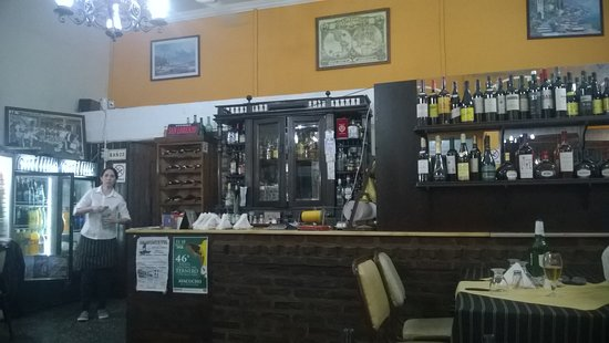 Ayacucho, Argentina: Detalle de la barra