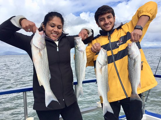 Ramita and brother ronak from new jersey went fishing for for Private fishing charters nj