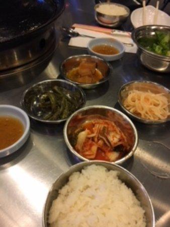 Ellicott City, MD: Rice, Beans, Sesame Oil, Kimchi