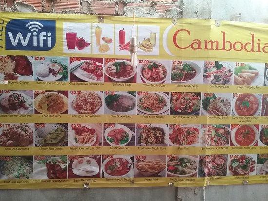 Siv Long Siem Reap Restaurant Avis Num Ro De T L Phone