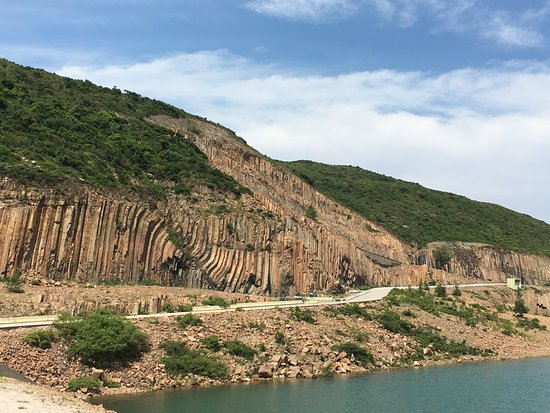 East Dam of High Island Reservoir