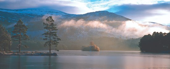 Aviemore, UK: Loch an Eilein in winter