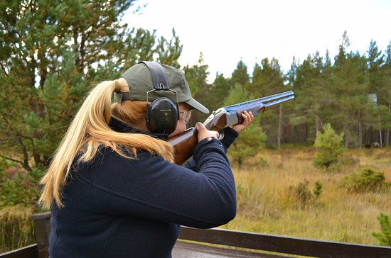 Clay Target Shooting at Rothiemurchus