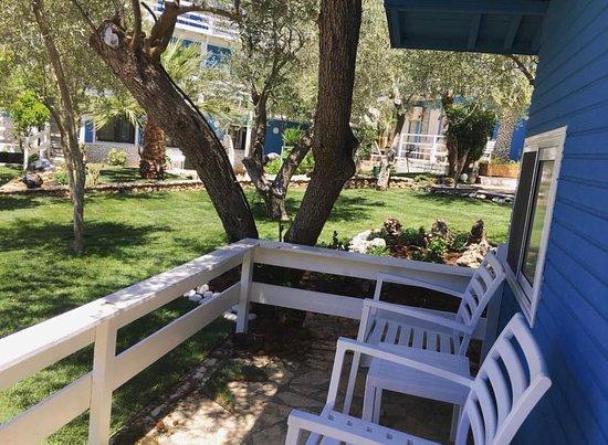 Balcony - Picture of Drymades Resort, Dhermi - Tripadvisor