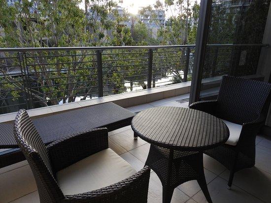 African Elite de Waterkant: Balkon