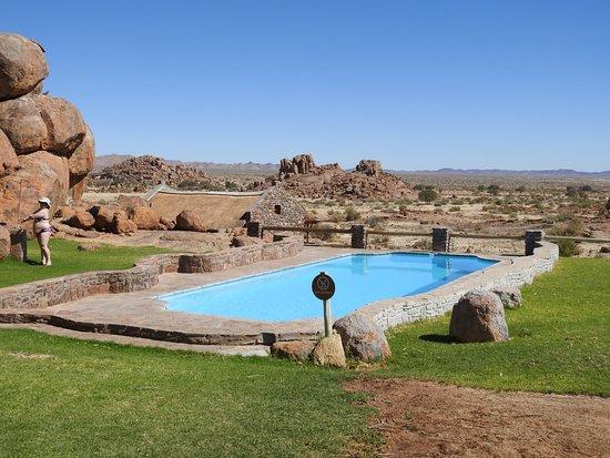 Fish River Canyon, Namibya: der Pool