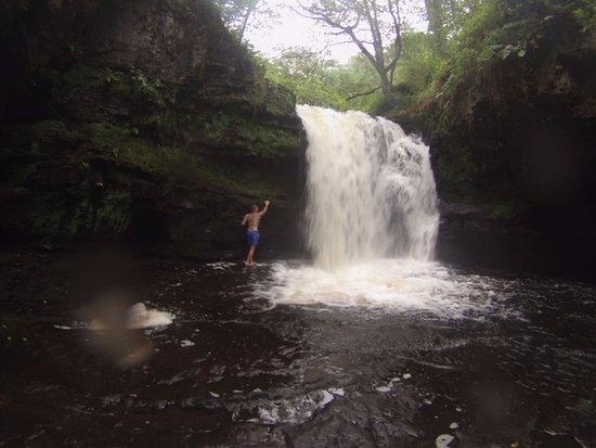 Ystradfellte, UK: 4 waterfalls