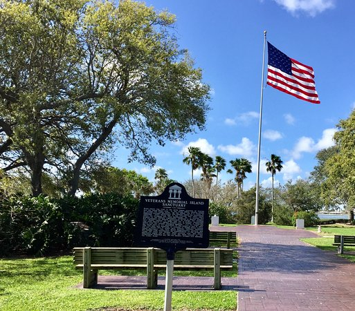 ‪Veterans Memorial Island Sanctuary‬