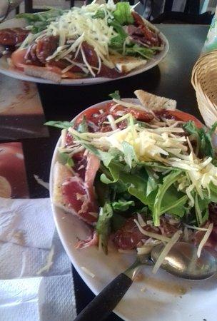 Restaurante Don Vito: Ensalada Atlántida (para uno o para dos)