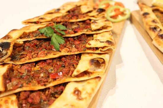 Pide Turkish Pizza Picture Of Saray Restaurant Cardiff