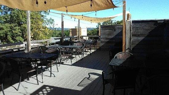 Rooftop Patio Picture Of Denim Pearls Restaurant