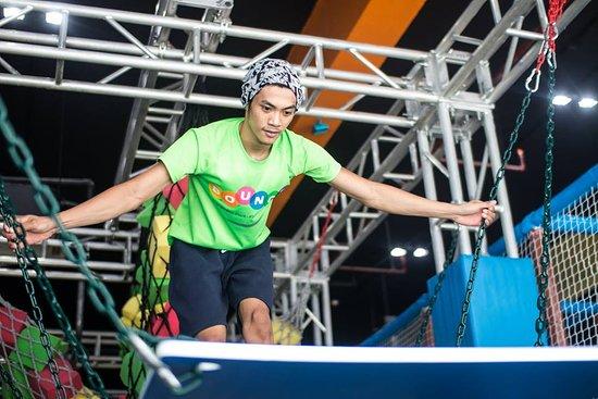 Bounce Philippines: Ninja course challenge