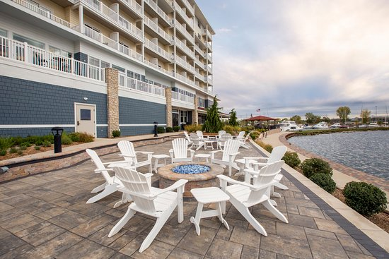 The Inn At Harbor Shores: New Fireside Patio. All Guests Are Welcome To A