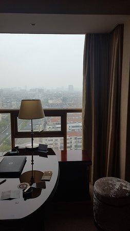 Pinghu, Çin: despacho con vistas