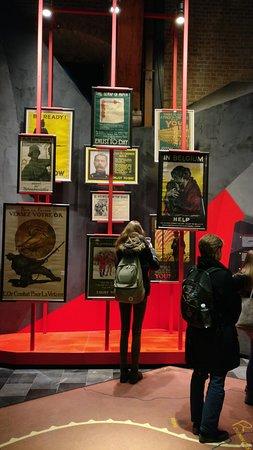 """Πολεμικό Μουσείο Φλάνδρας: """"In Flanders Museum"""": Einsatz moderner Museumsdidaktik begleitet den Besucher"""