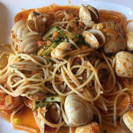 Unteruhldingen, Niemcy: Spaghetti allo scoglio