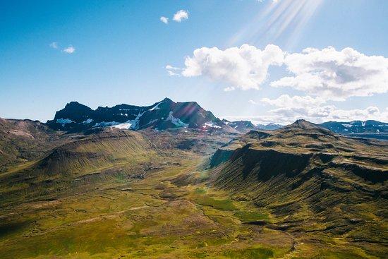Borgarfjordur Eystri, Исландия: The view