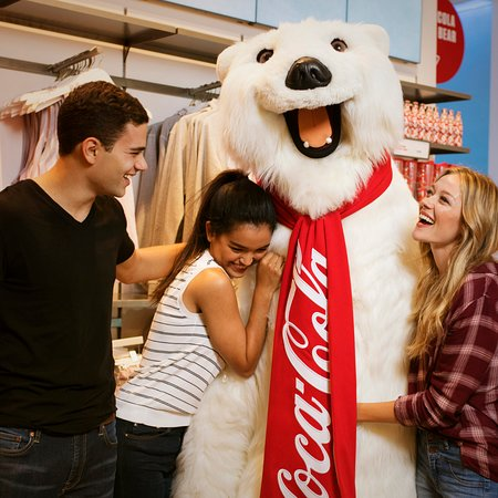 Coca-Cola Store Las Vegas : Come meet and have your photo taken with the Coca-Cola Polar Bear.
