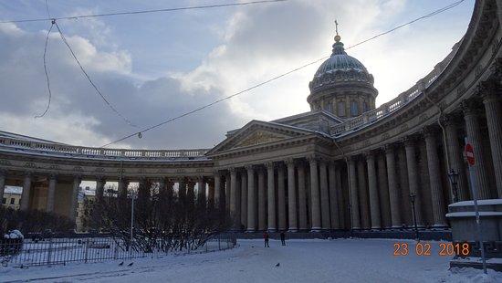 คาเธดราลออฟอาวร์เลดี้ออฟคาซัน: Казанский собор, февраль 2018 года...